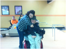 2013 bowling with Tom
