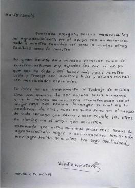 Respite Blog Careigiver for November spanish translation